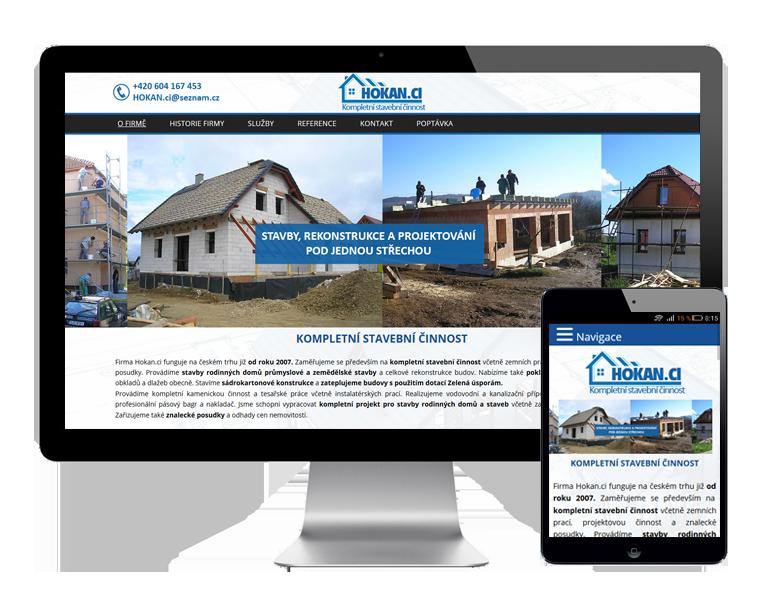 Tvorba webových stránek na míru pro stavební firmy Brno