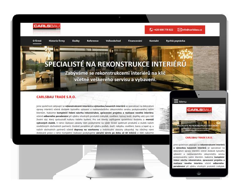 Tvorba webových stránek Karlovy Vary