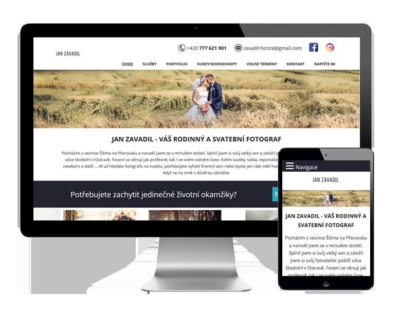 Tvorba webových stránek pro firmy Ostrava