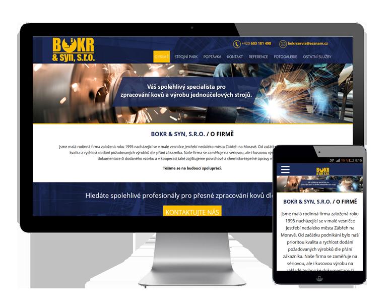 Tvorba webových stránek Zábřeh na Moravě